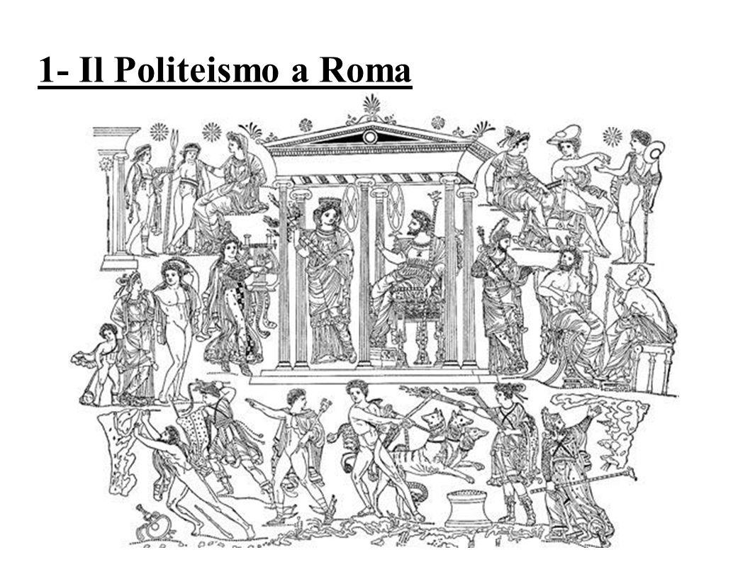 1- Il Politeismo a Roma