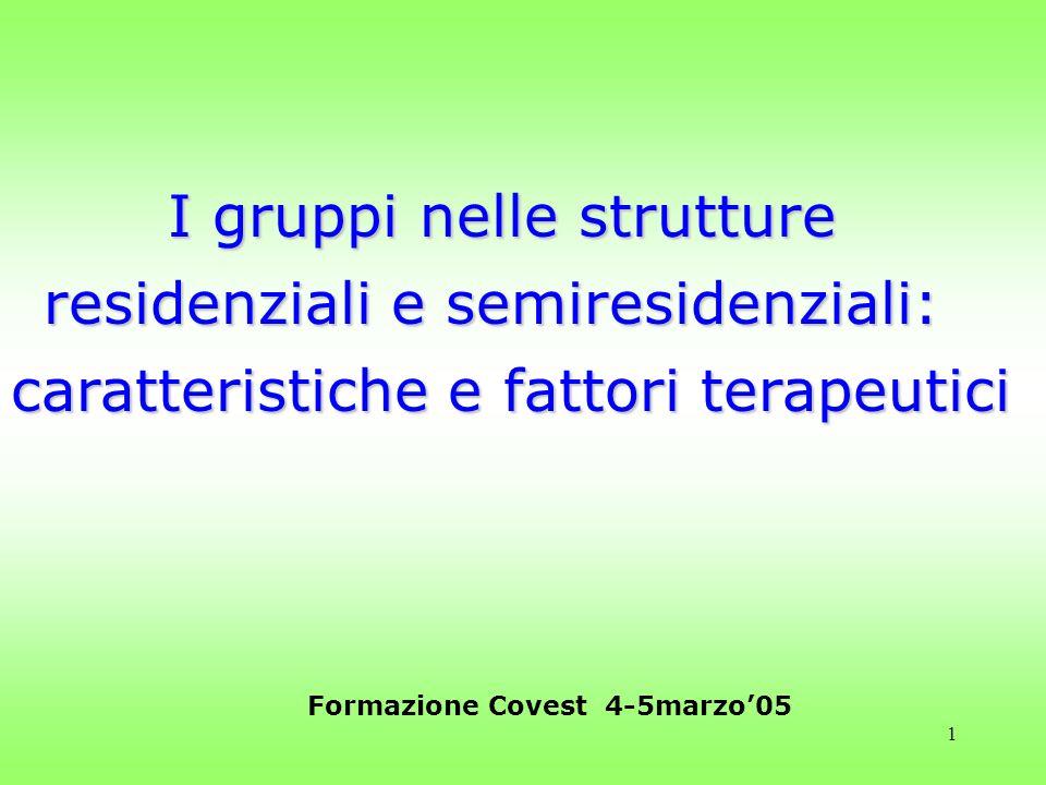 Formazione Covest 4-5marzo'05