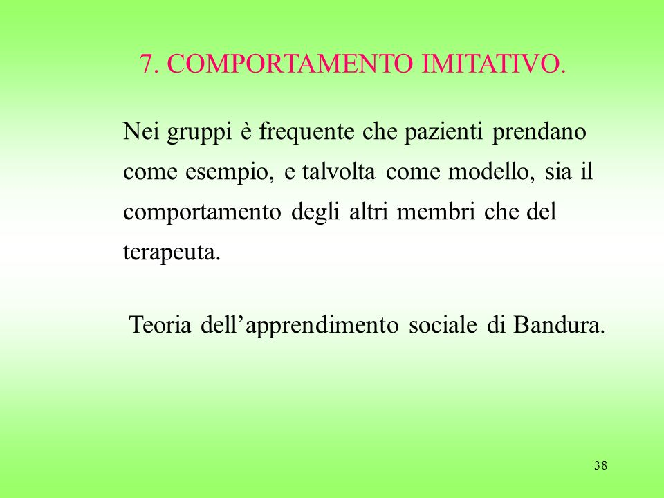 7. COMPORTAMENTO IMITATIVO.