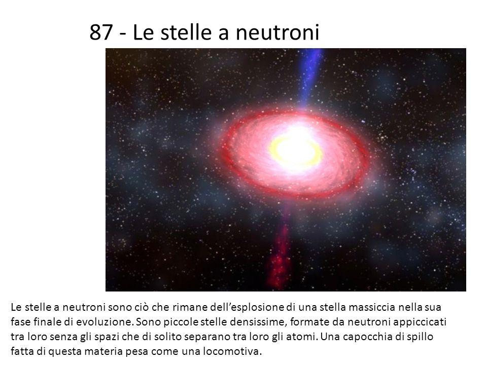 87 - Le stelle a neutroni