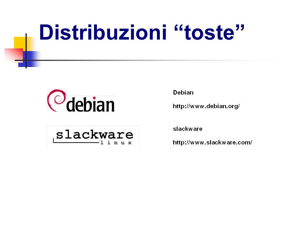 Distribuzioni toste