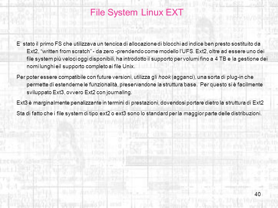 File System Linux EXT