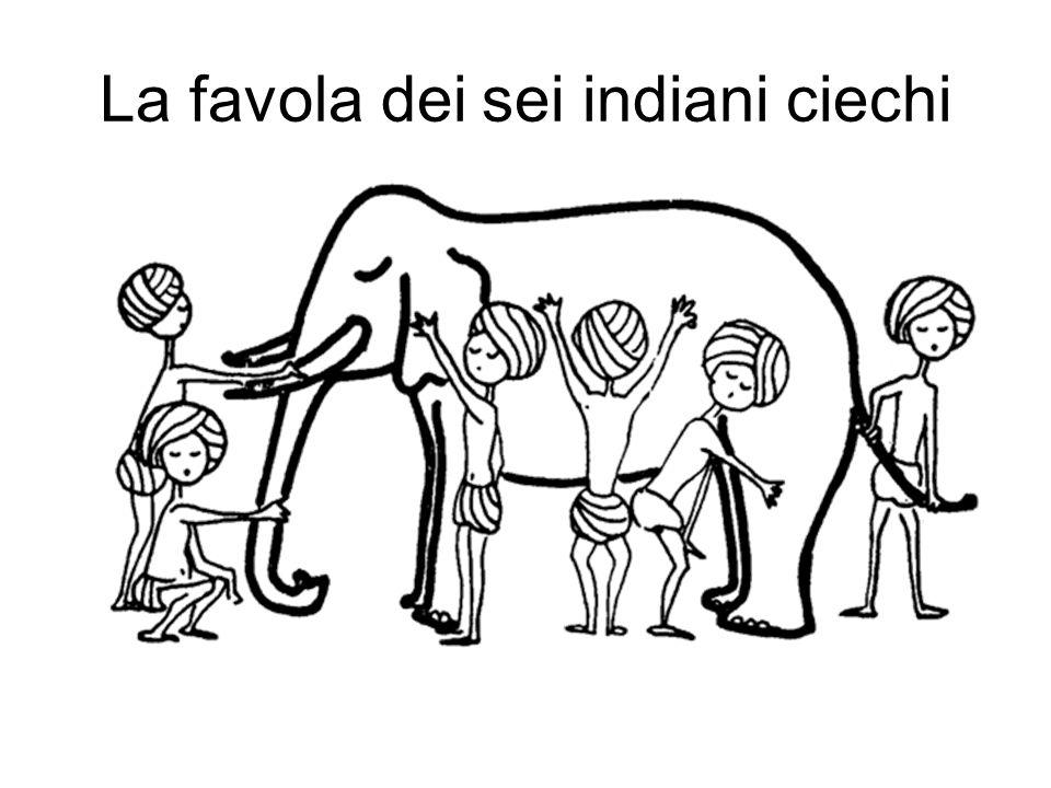 La favola dei sei indiani ciechi