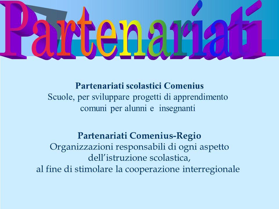Partenariati scolastici Comenius
