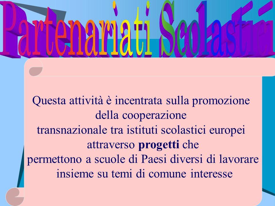 Partenariati Scolastici
