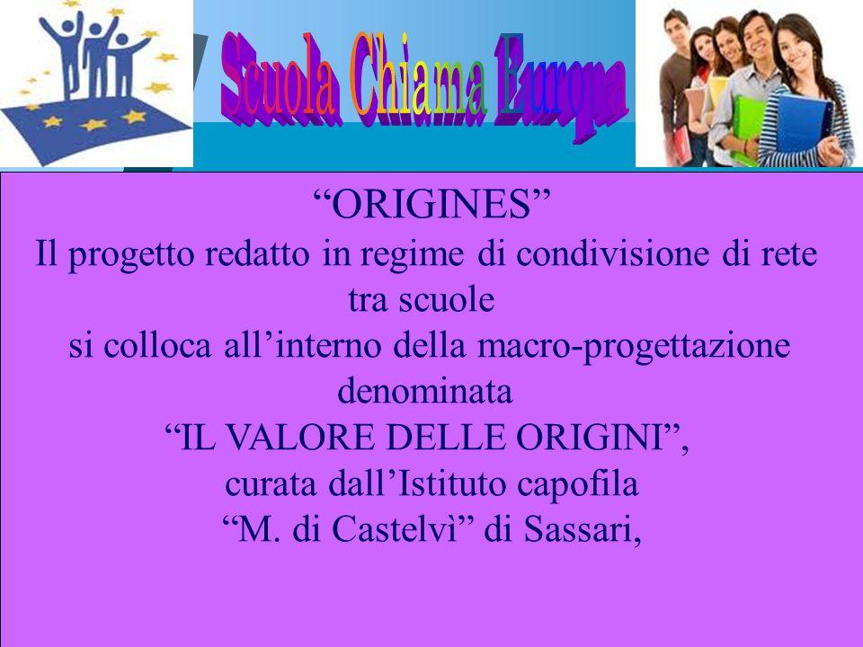 Scuola Chiama Europa ORIGINES