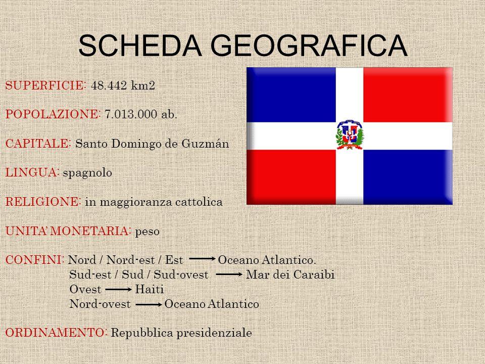 SCHEDA GEOGRAFICA SUPERFICIE: 48.442 km2 POPOLAZIONE: 7.013.000 ab.