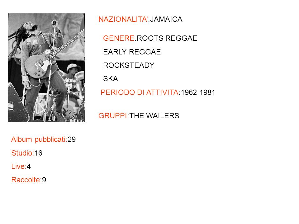 NAZIONALITA':JAMAICA