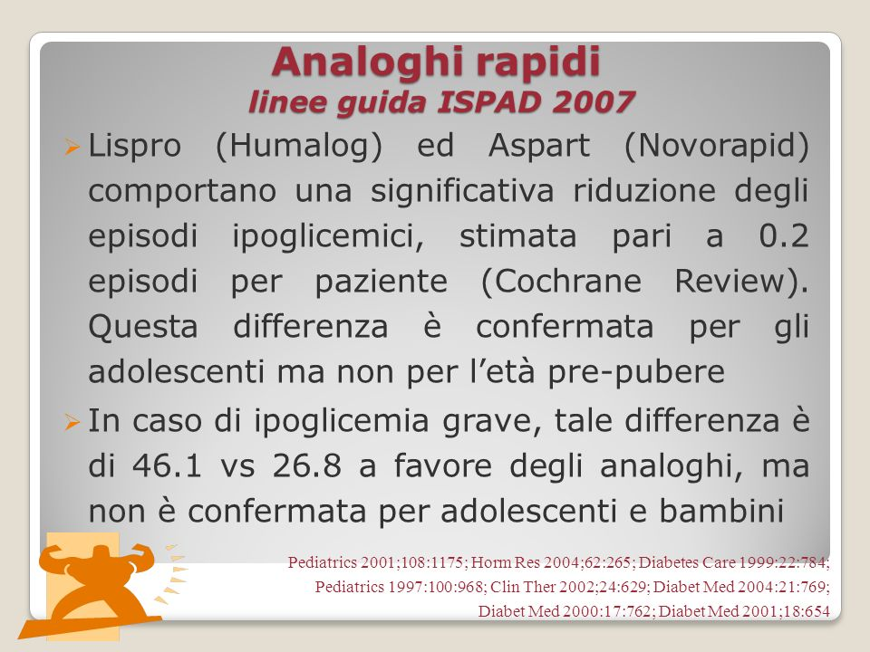 Analoghi rapidi linee guida ISPAD 2007