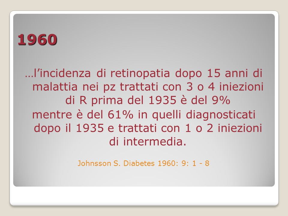 Johnsson S. Diabetes 1960: 9: 1 - 8