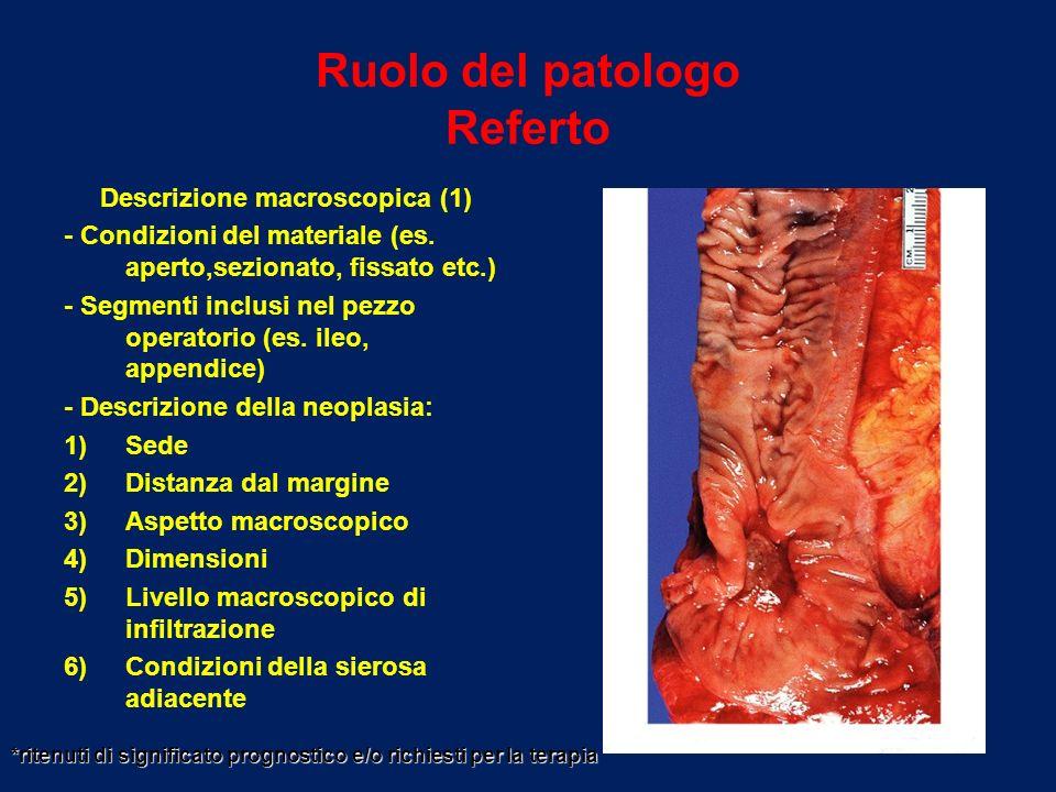 Ruolo del patologo Referto