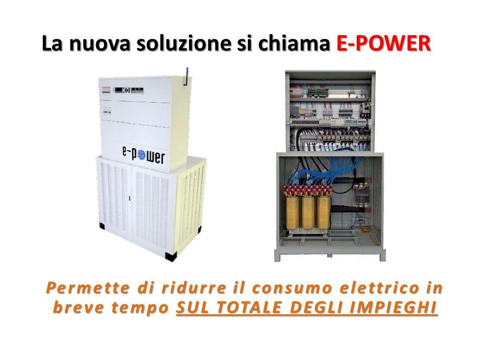 La nuova soluzione si chiama E-POWER