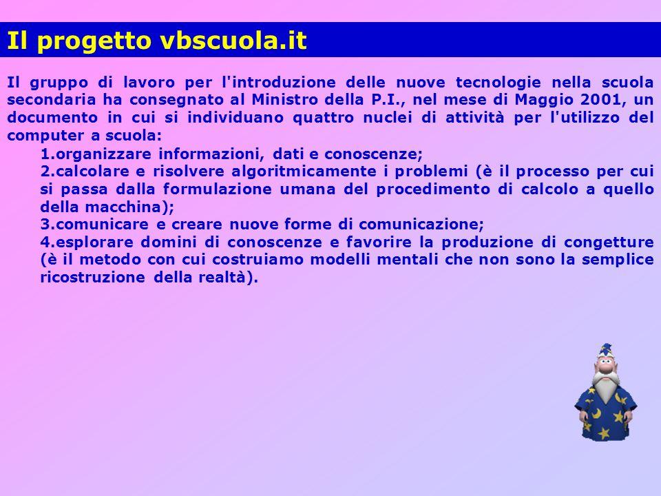 Il progetto vbscuola.it