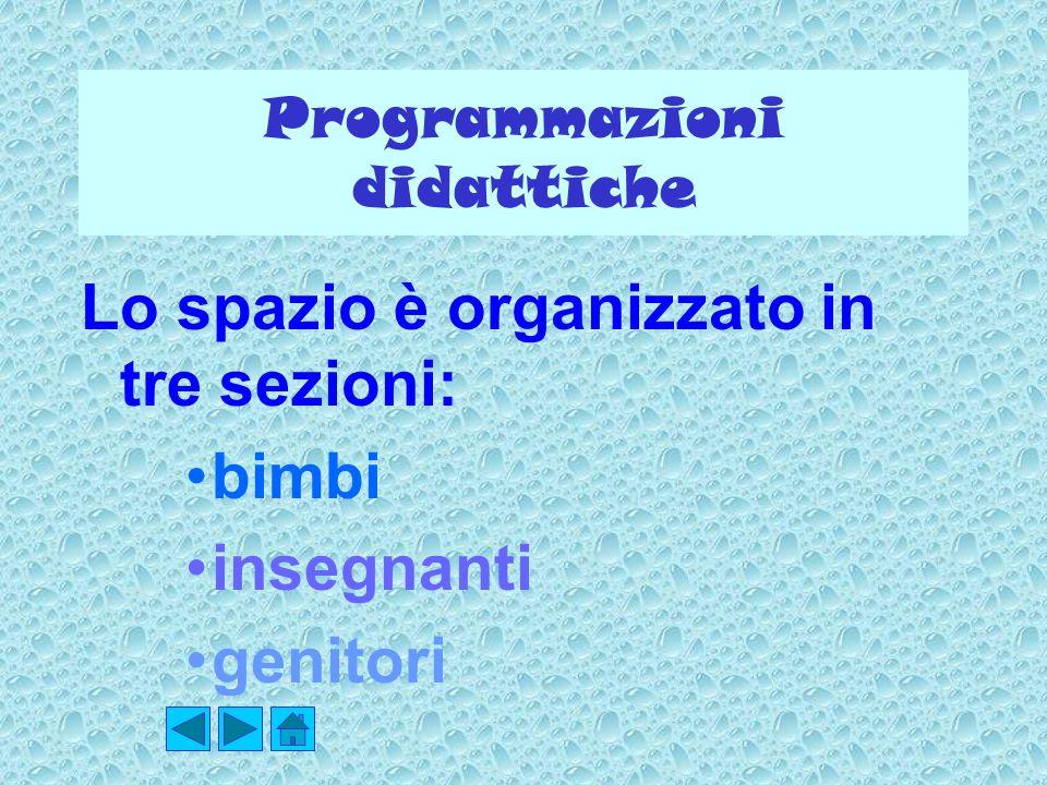 Programmazioni didattiche
