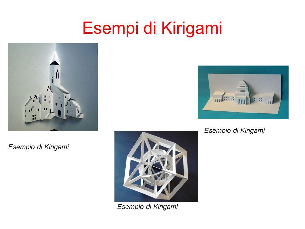 Esempi di Kirigami Esempio di Kirigami Esempio di Kirigami