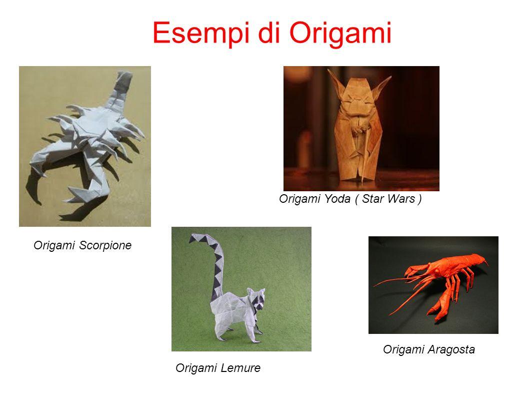 Esempi di Origami Origami Yoda ( Star Wars ) Origami Scorpione