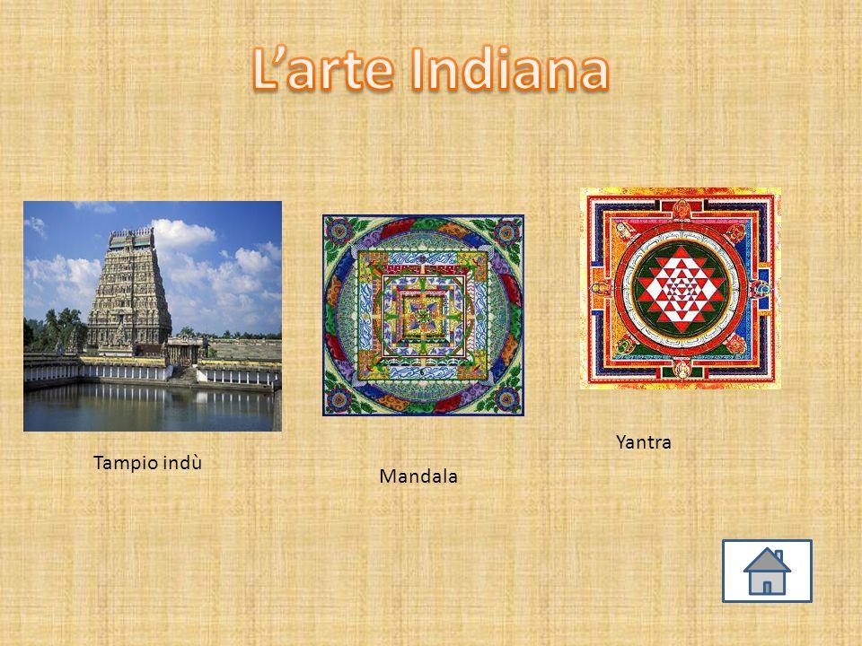 L'arte Indiana Yantra Tampio indù Mandala