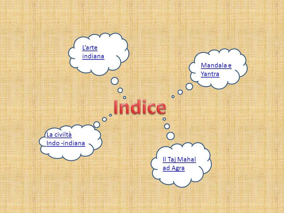 Indice L'arte indiana Mandala e Yantra La civiltà Indo -indiana