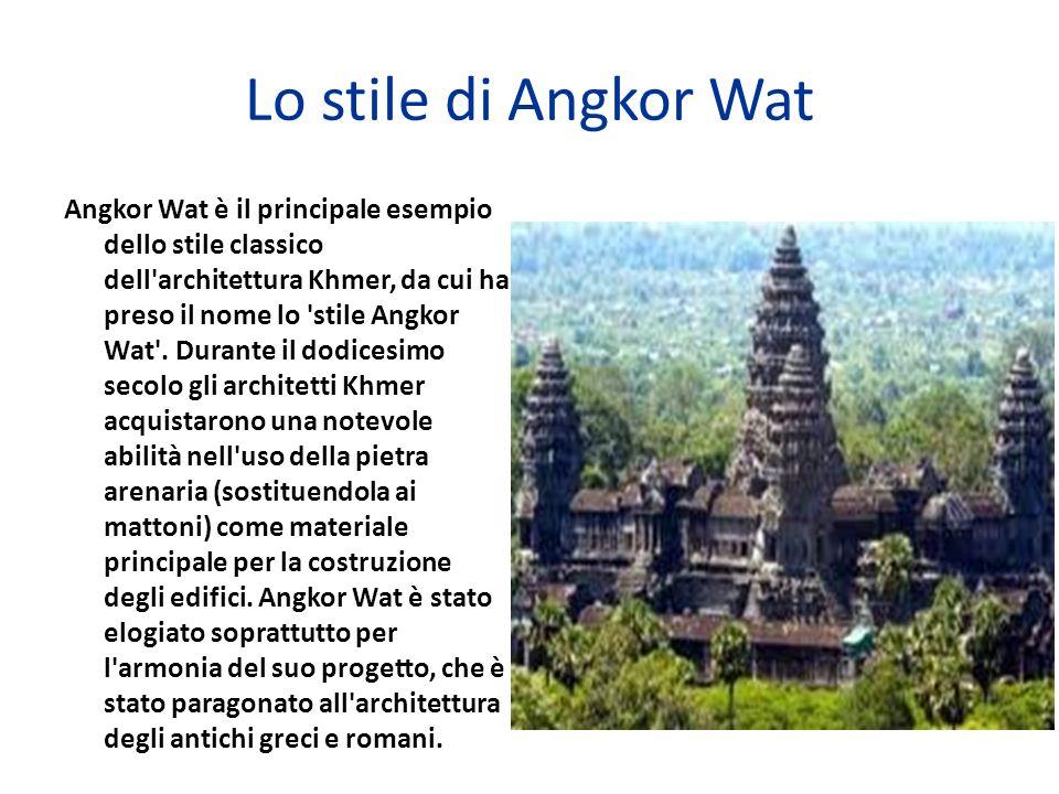 Lo stile di Angkor Wat