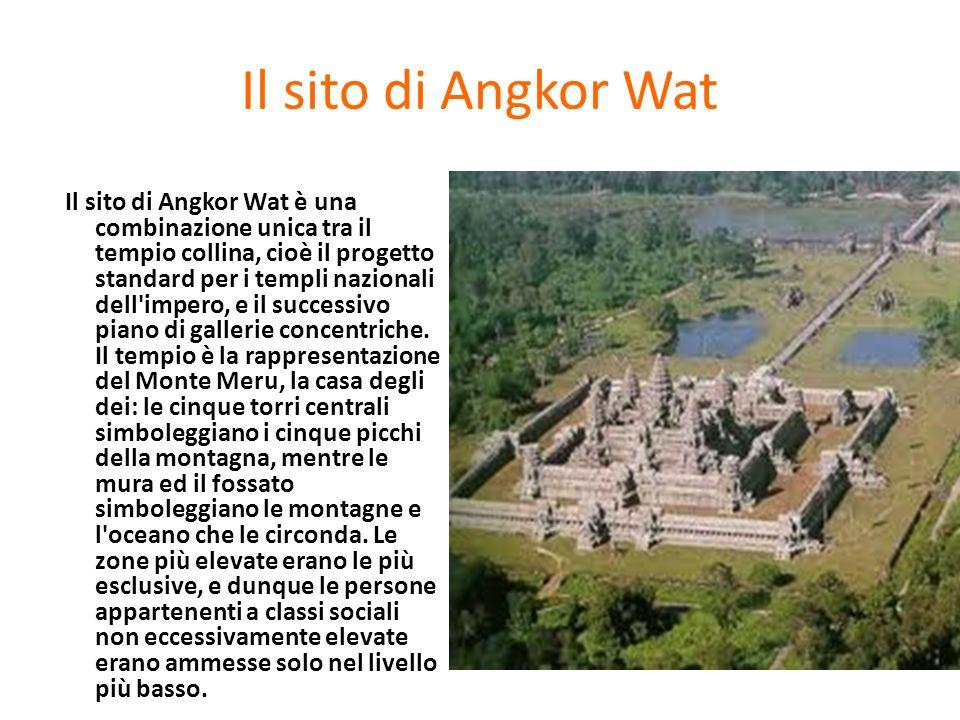 Il sito di Angkor Wat