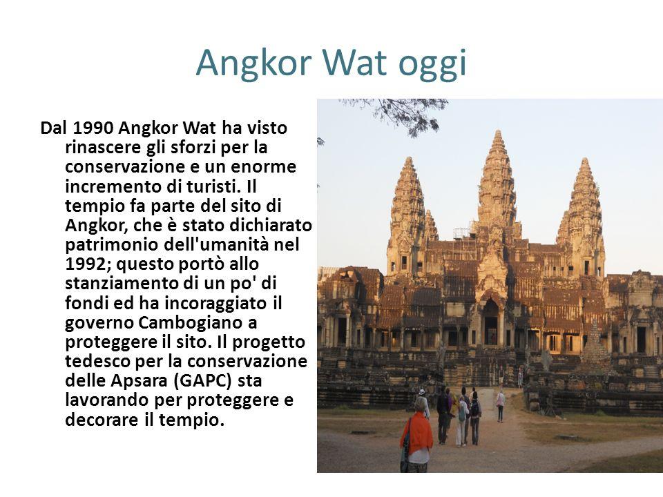 Angkor Wat oggi