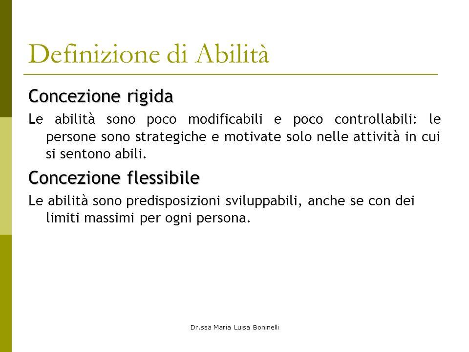 Definizione di Abilità