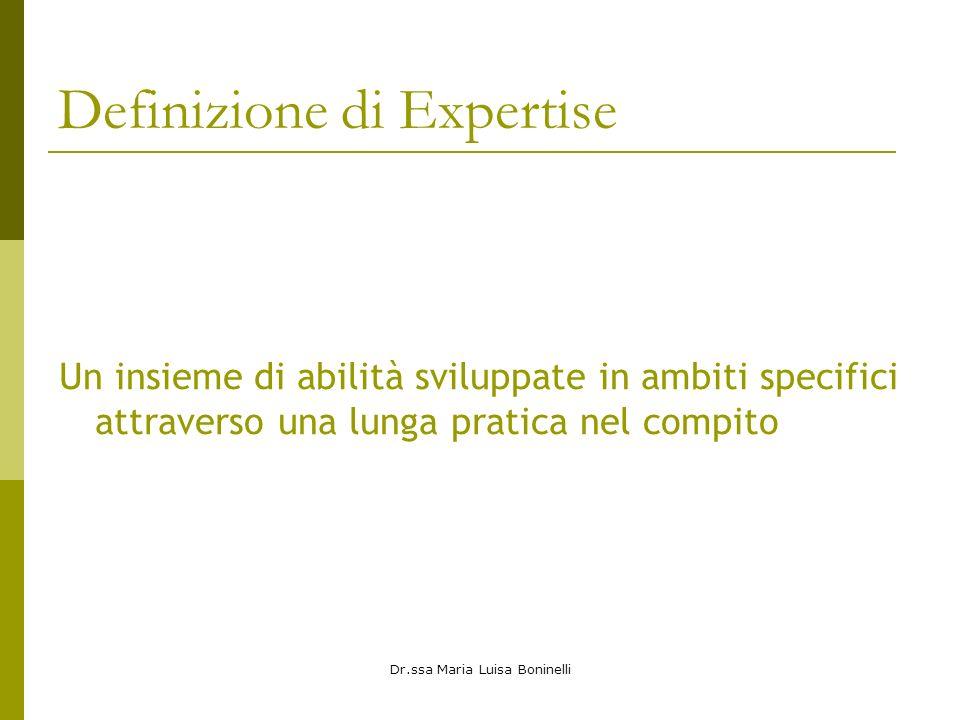 Definizione di Expertise