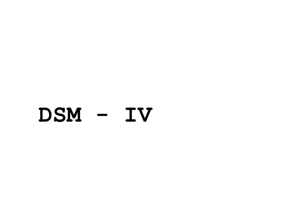 DSM - IV 24/05/11 21