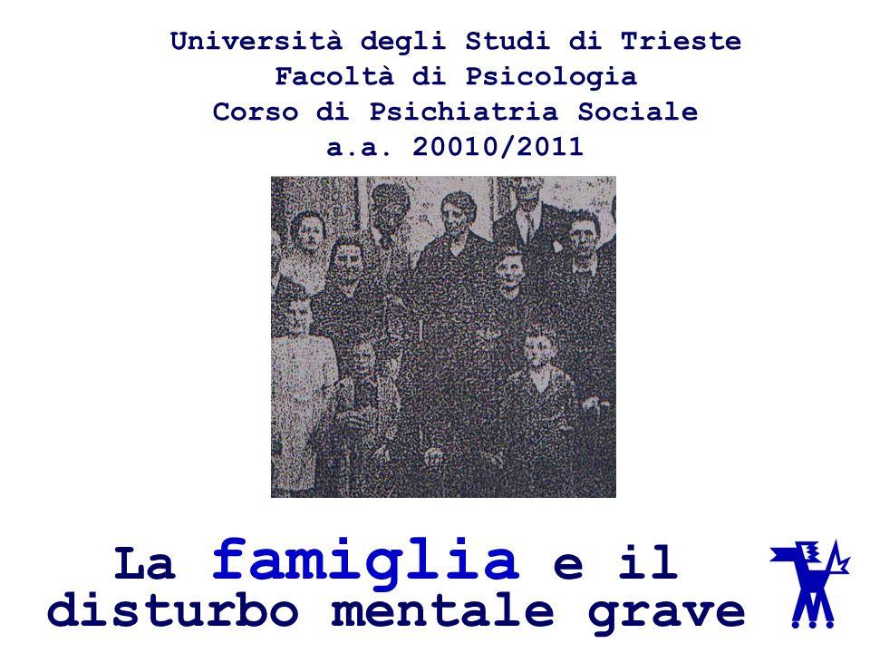 Università degli Studi di Trieste Facoltà di Psicologia