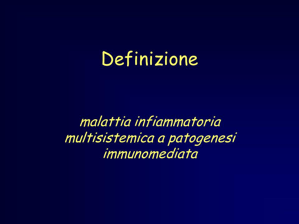 malattia infiammatoria multisistemica a patogenesi immunomediata