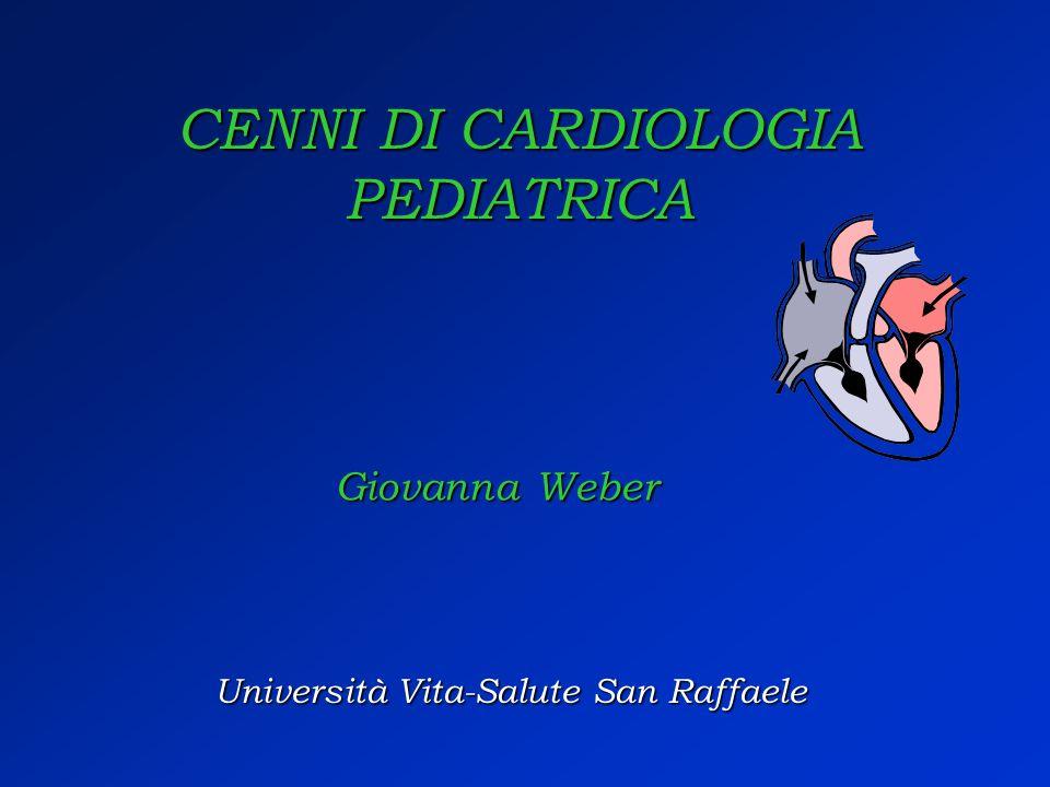 CENNI DI CARDIOLOGIA PEDIATRICA