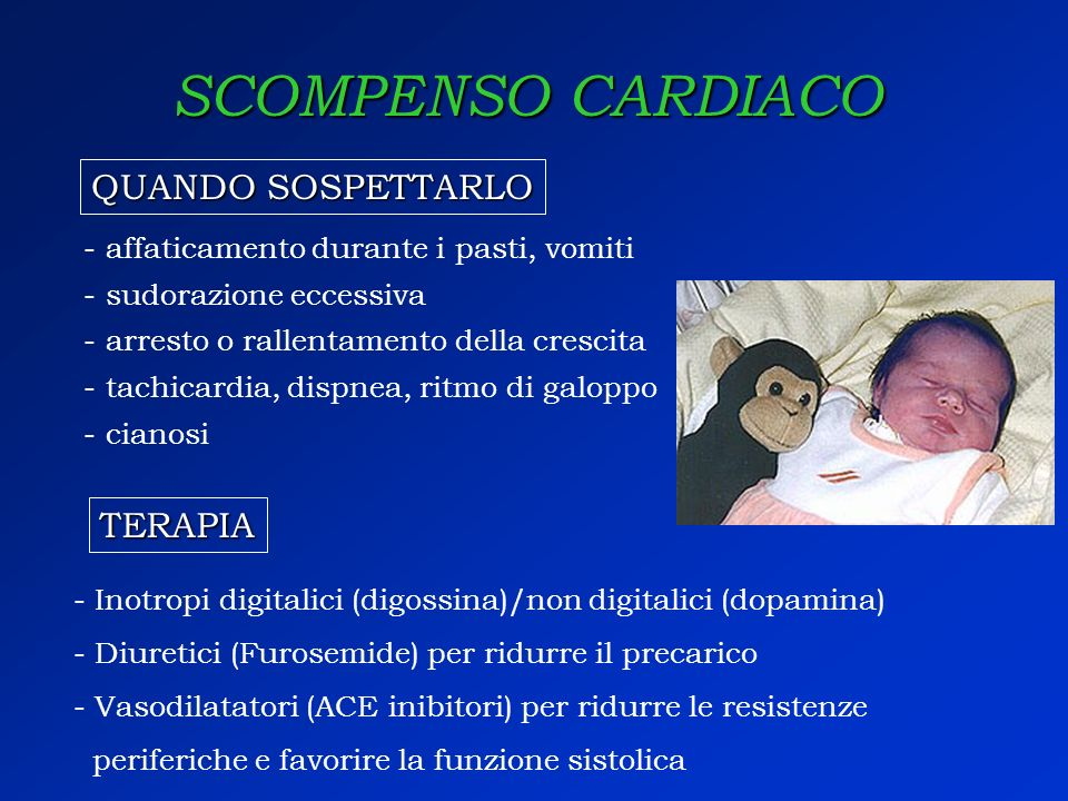 SCOMPENSO CARDIACO QUANDO SOSPETTARLO TERAPIA