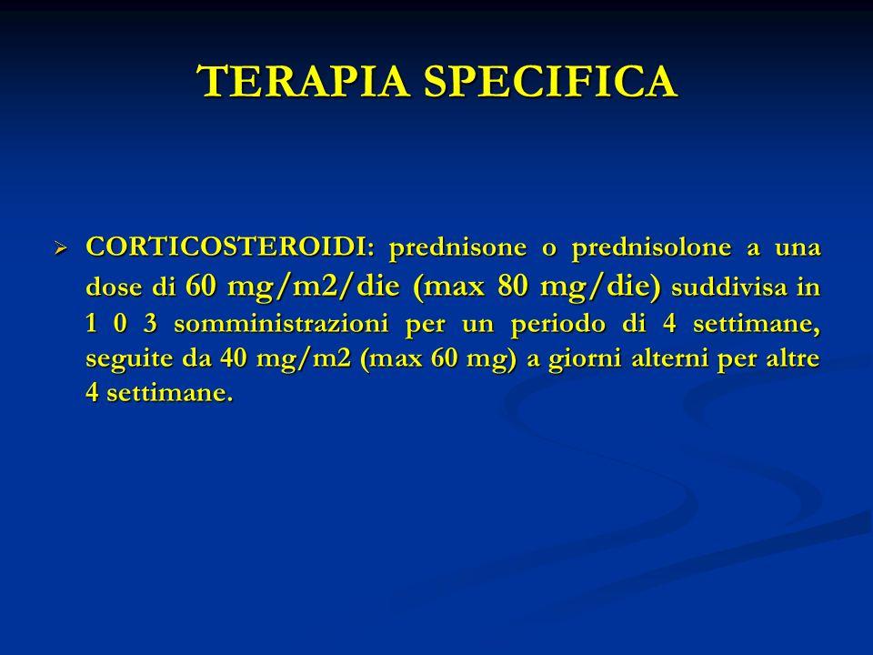 TERAPIA SPECIFICA