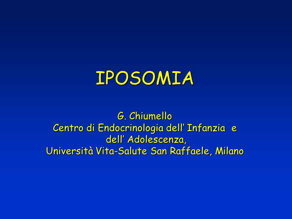 IPOSOMIA G.