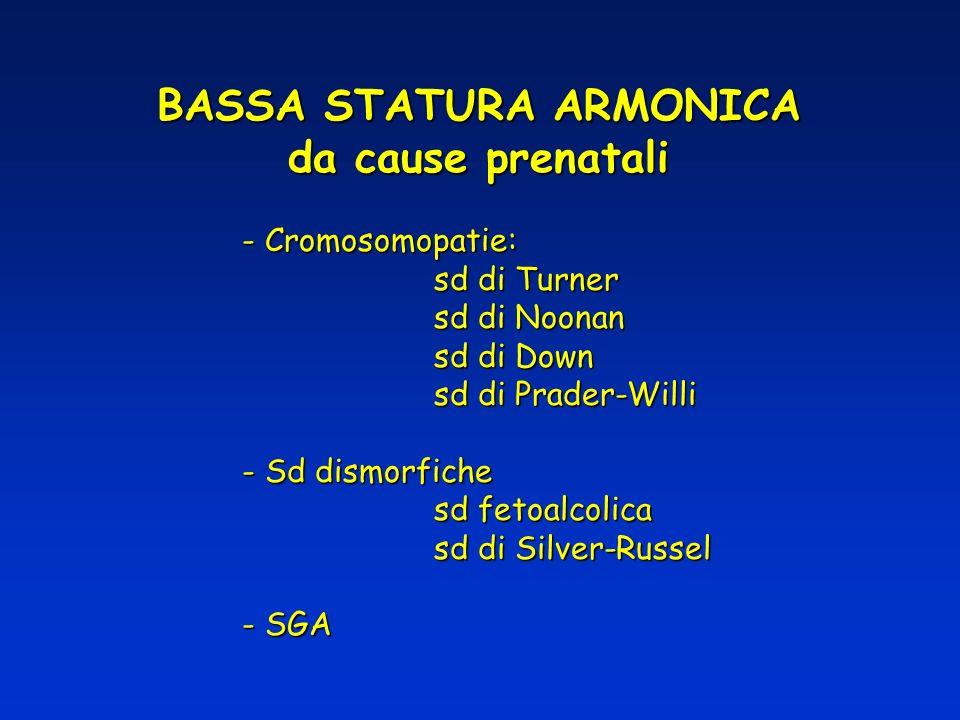 BASSA STATURA ARMONICA