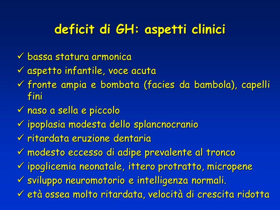 deficit di GH: aspetti clinici