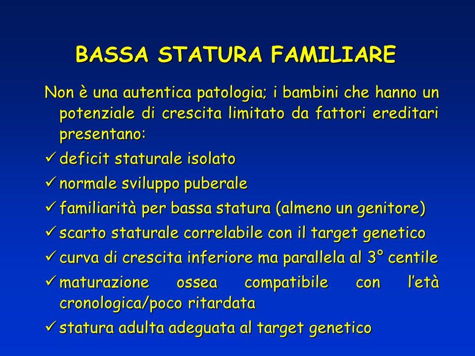 BASSA STATURA FAMILIARE