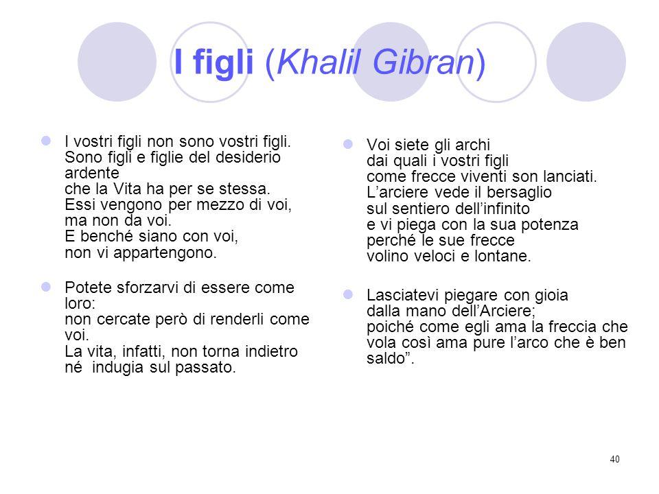 I figli (Khalil Gibran)