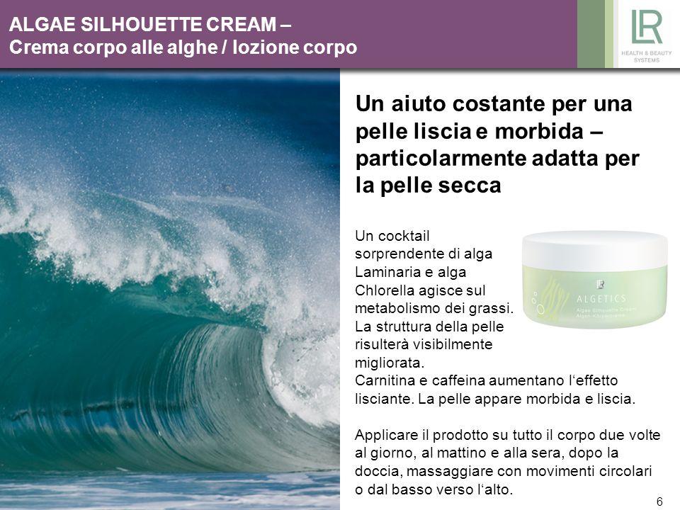 ALGAE SILHOUETTE CREAM – Crema corpo alle alghe / lozione corpo
