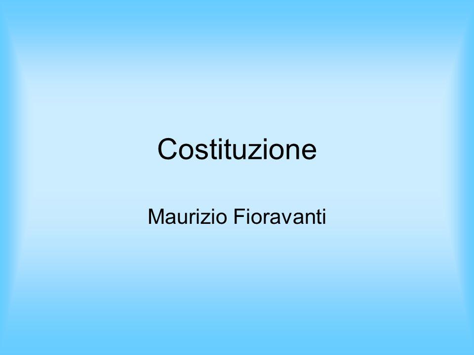 Costituzione Maurizio Fioravanti