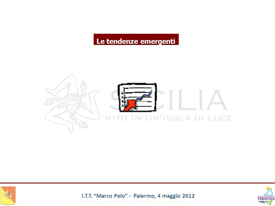 Le tendenze emergenti I.T.T. Marco Polo - Palermo, 4 maggio 2012