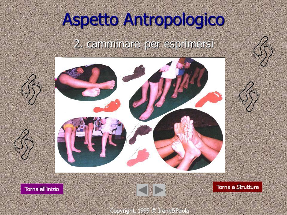 Aspetto Antropologico 2. camminare per esprimersi
