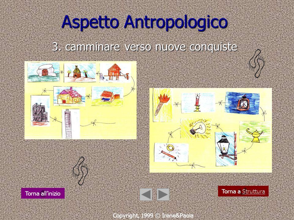 Aspetto Antropologico 3. camminare verso nuove conquiste