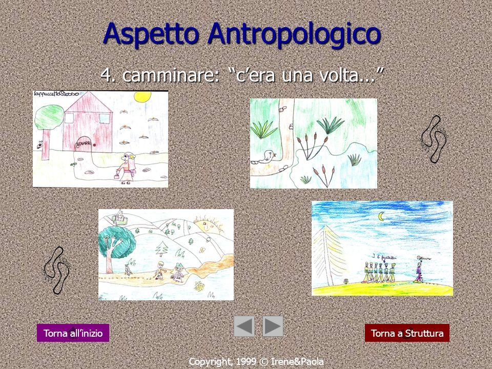 Aspetto Antropologico 4. camminare: c'era una volta...