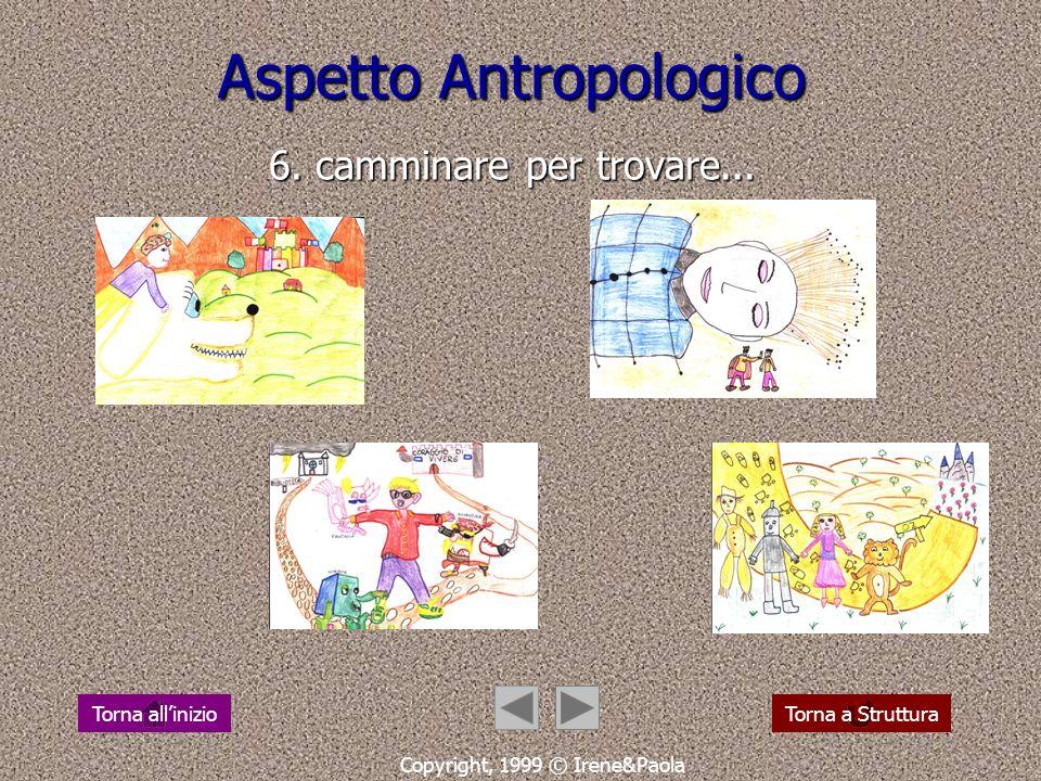 Aspetto Antropologico 6. camminare per trovare...