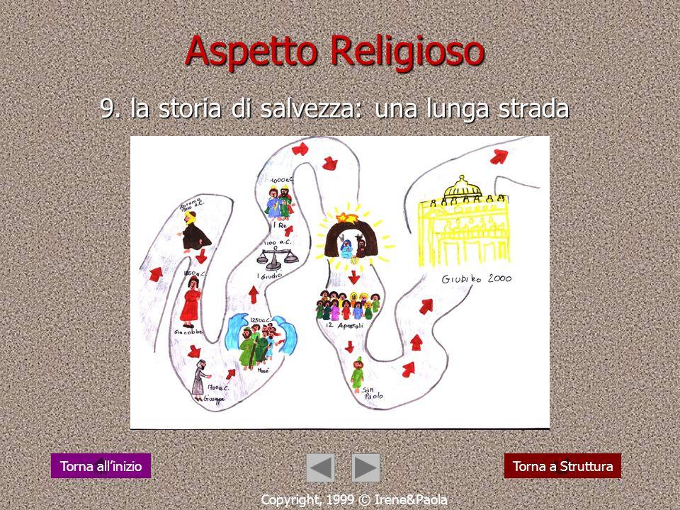 Aspetto Religioso 9. la storia di salvezza: una lunga strada