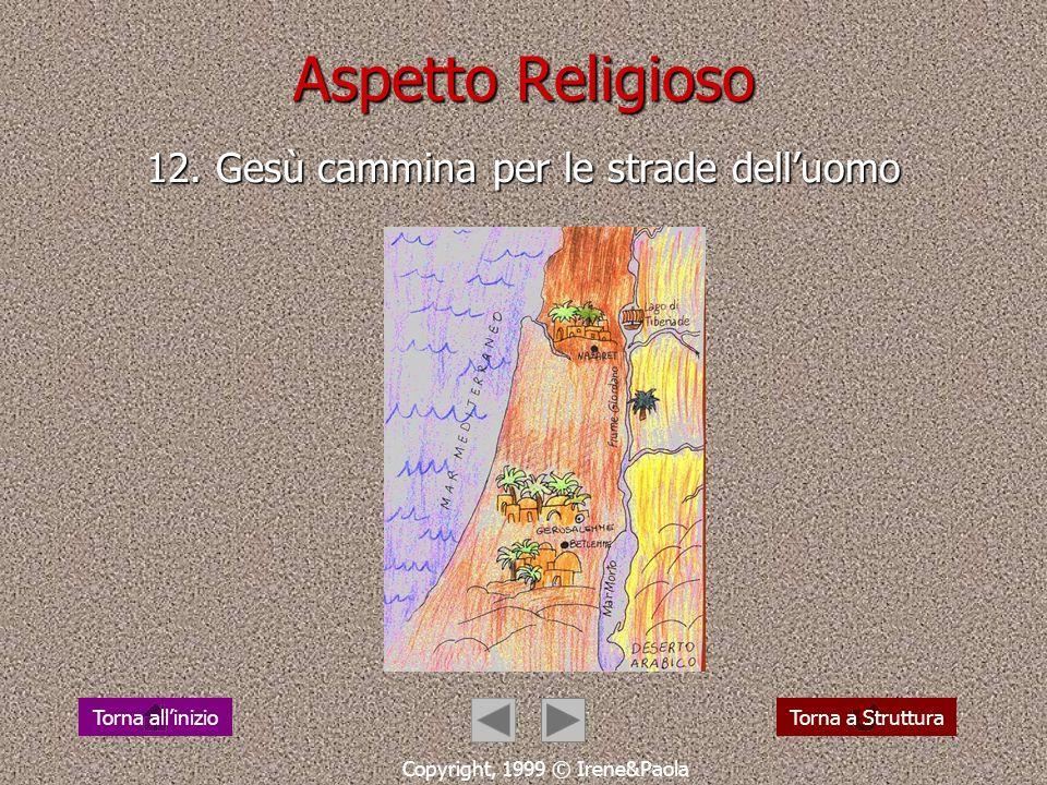 Aspetto Religioso 12. Gesù cammina per le strade dell'uomo