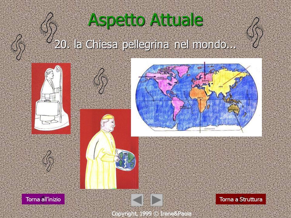 Aspetto Attuale 20. la Chiesa pellegrina nel mondo...