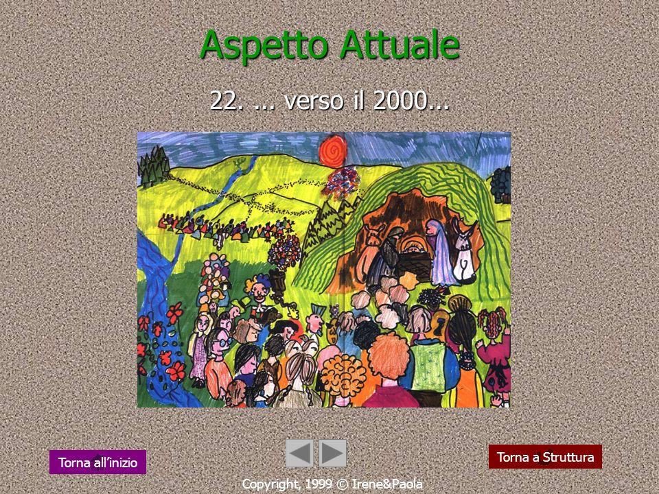 Aspetto Attuale 22. ... verso il 2000...