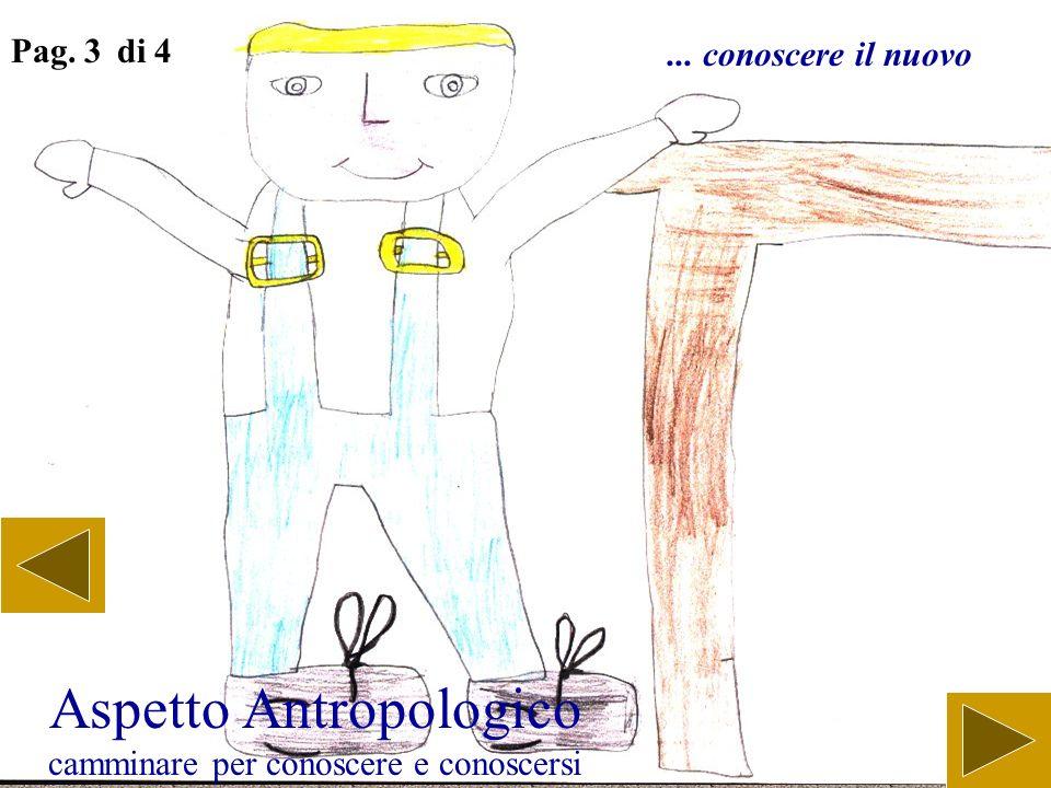 Aspetto Antropologico camminare per conoscere e conoscersi